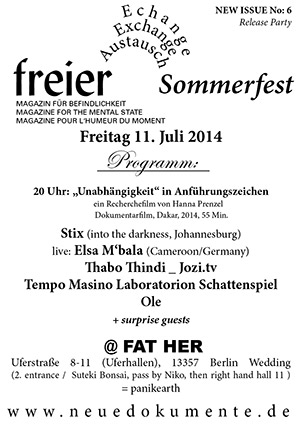 sommerfest invitation